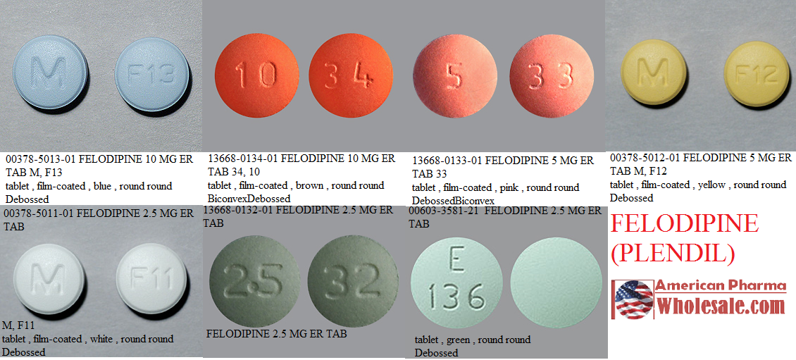 RX ITEM-Felodipine 10Mg Tab 100 By Glenmark Generics