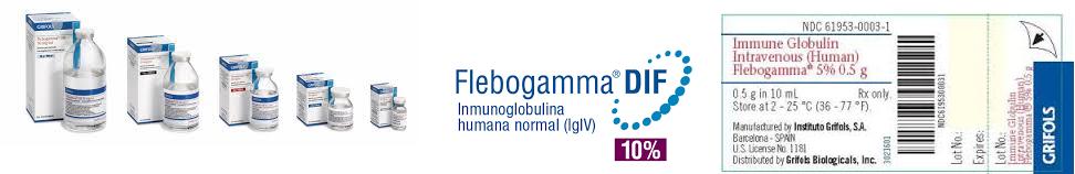 Flebogamma Dif 10% Vial 10gm 100ml by Grifolis