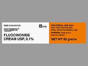 RX ITEM-Fluocinonide 0.1% Cream 60Gm By Sandoz Pharma