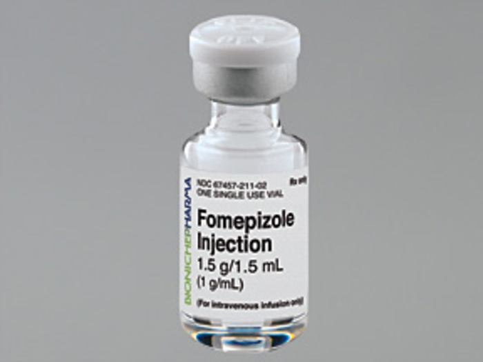 Fomepizole 1G/ml Vial 1.5ml by Mylan Institutional