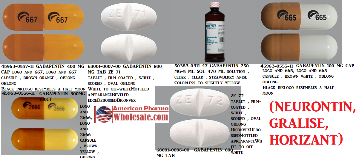 Gabapentin 100% Powder 1000gm by Medisca