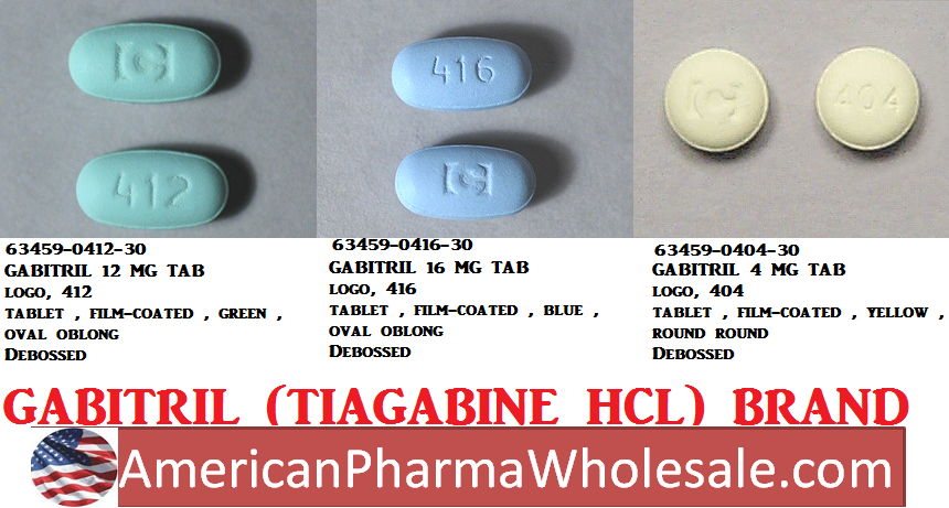 Gabitril 12mg Tab 30 by Teva Pharma