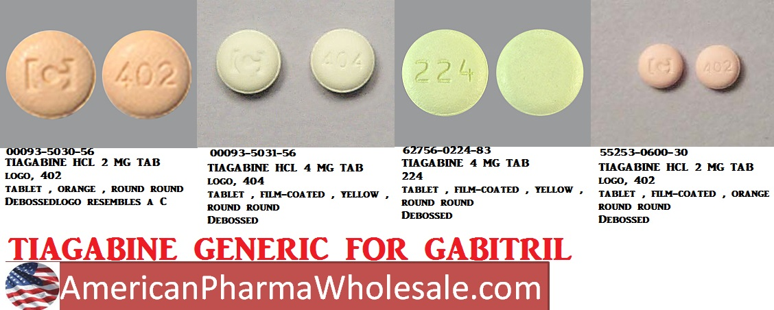 Rx Item-Tiagabine 2mg Tab 30 By Caraco Pharma