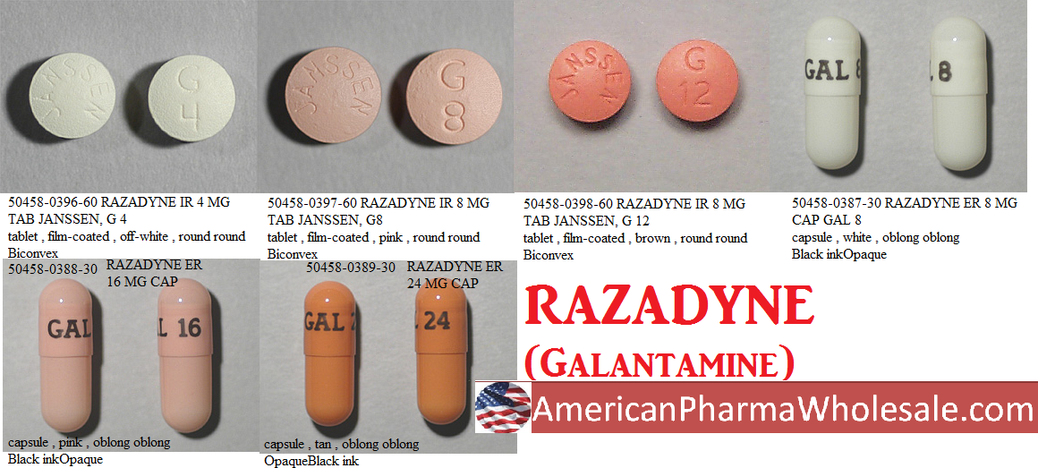 '.Galantamine 12Mg Tab 60 By Citron Pharma.'