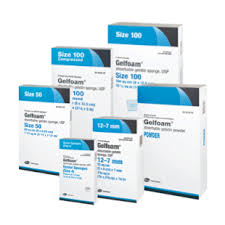 RX ITEM-Gelfoam Compr 100Cm Spg 6 By Pfizer Pharma Inj