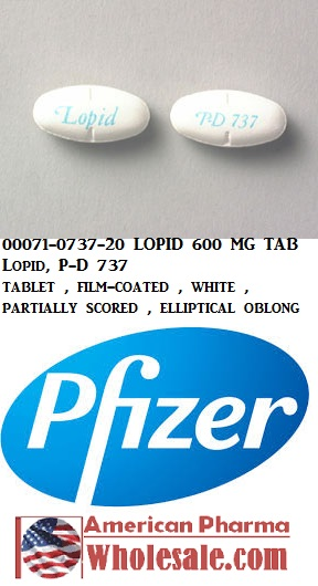 '.Gemfibrozil 600Mg Tab 500 By Cipla Pharm.'