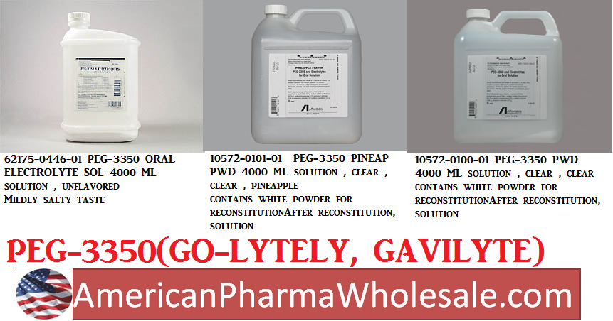 RX ITEM-Peg-3350 236 22.74G Solution 4000Ml By Affordable Pharm