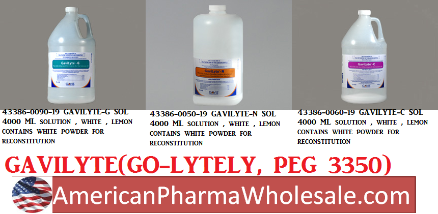 RX ITEM-Gavilyte-C 240 22.72G Solution 4000Ml By Gavis Pharma