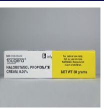 RX ITEM-Halobetasol 0.05% Cream 50Gm By Fougera Pharma