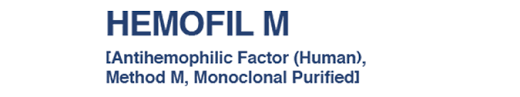 RX ITEM-Hemofil M PDS  Ahf 1080 Iuvial By Baxalta Healthcare