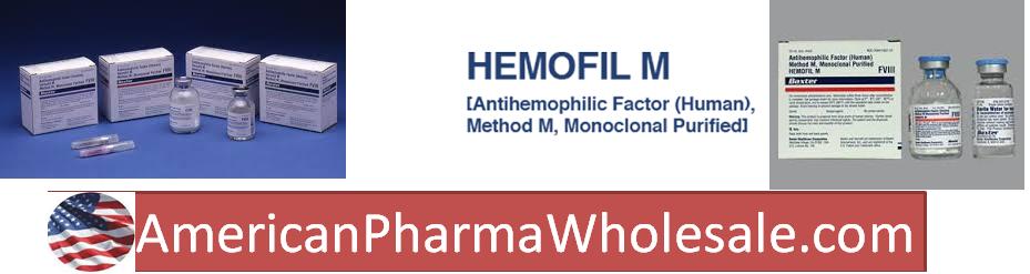 RX ITEM-Hemofil M PDS  Ahf 1501 Vial By Baxalta Healthcare