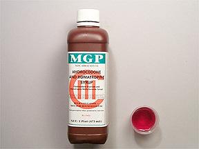 Rx Item-Hydrocodone-Homa 5-1.5Mg-5 Syrup 16 oz By Kvk Pharma