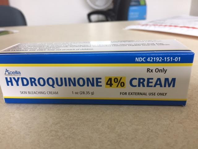 RX ITEM-Hydroquinone 4% Cream 28.35Gm By Acella Pharma Rx Item
