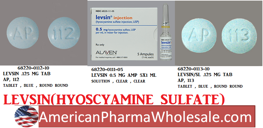 '.Hyoscyamine Sulfate 0.125Mg/Ml Drops 15M.'
