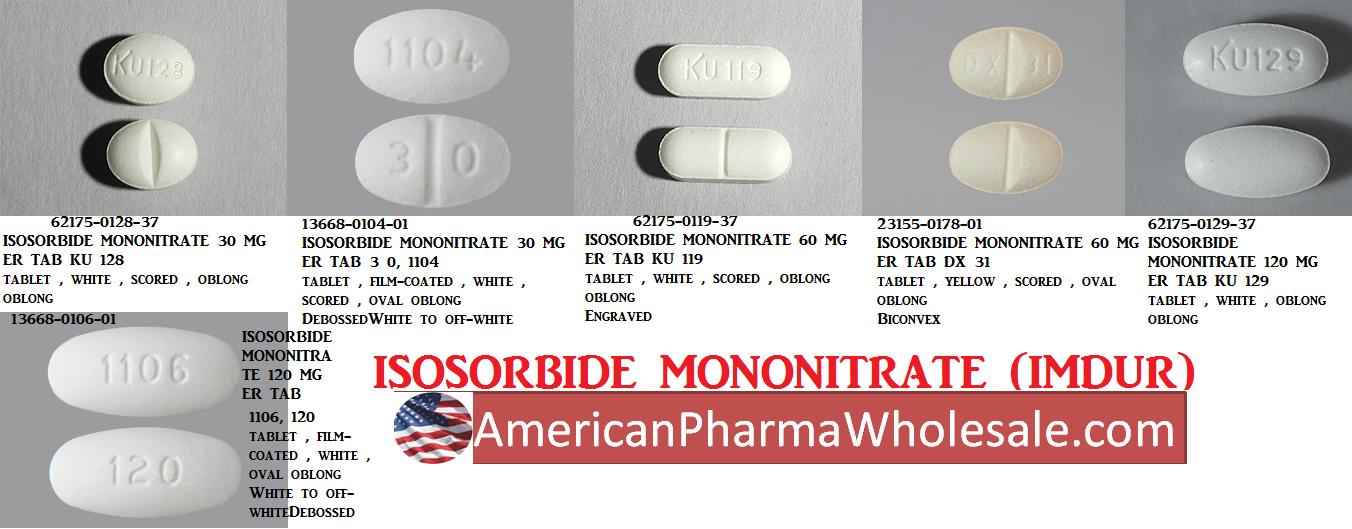 RX ITEM-Isosorbide Mononitrate 10Mg Tab 100 By Actavis Pharma
