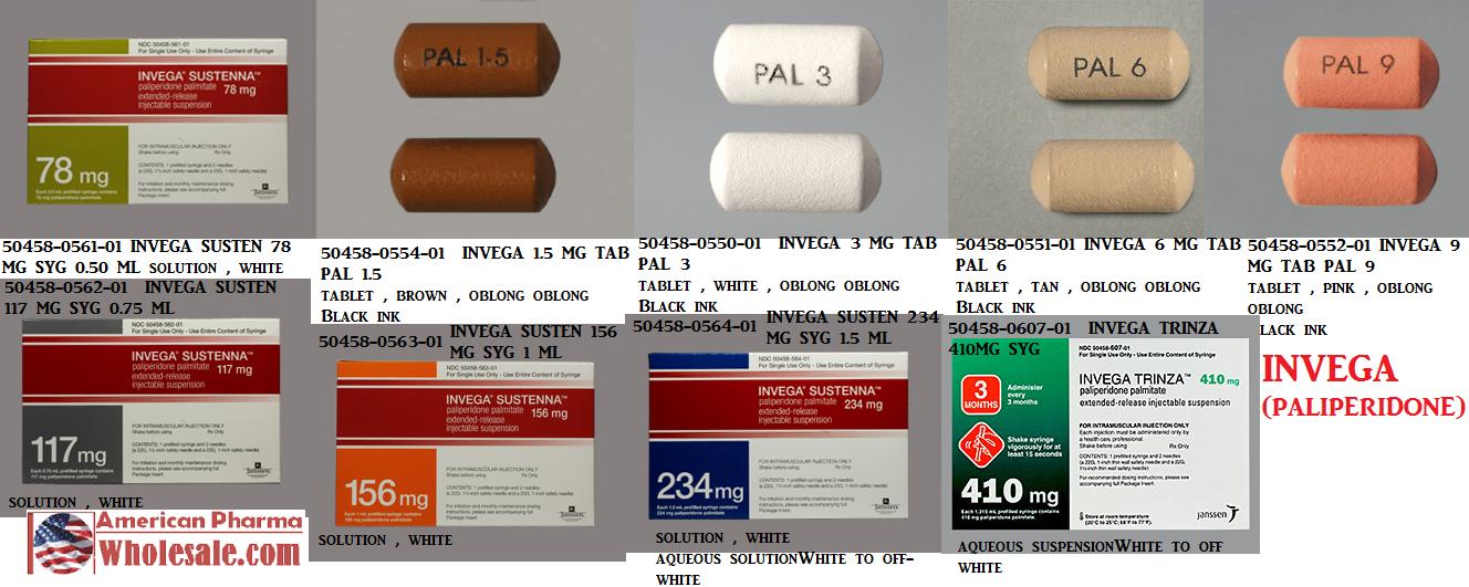 RX ITEM-Invega 1.5Mg Tab 30 By J O M Pharma