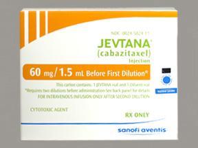 RX ITEM-Jevtana Fdn10Mg/Ml Vial By Aventis Pharma