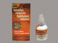 RX ITEM-Ketotifen Fumarate 0.025% Drop 5Ml Akorn