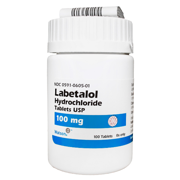 Labetalol 100mg Tab 100 By Actavis Pharma(TEVA)