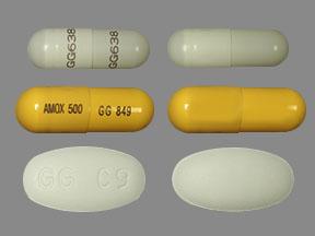 Lansoprazole-Amox-Cla 30 500 500 Cap 112 by Sandoz Pharma Gen Prevpac