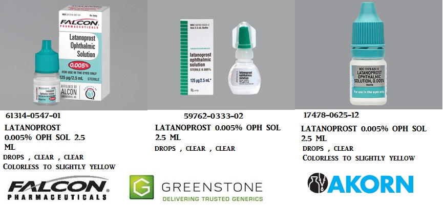RX ITEM-Latanoprost 0.005% Drops 2.5Ml By Greenstone Limited