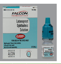 RX ITEM-Latanoprost 0.005% Drops 3X2.5Ml By Sandoz Falcon Pharma