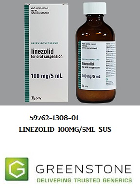 Linezolid 100mg/5ml Sus 150 ml by Greenstone Limited