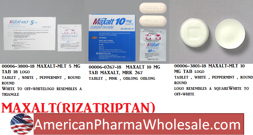 RX ITEM-Maxalt-Mlt 5Mg Tab 18 By Merck