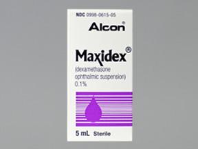 RX ITEM-Maxidex 0.1% Drops 5Ml By Alcon Labs