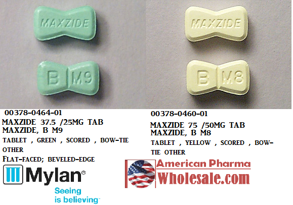 RX ITEM-Maxzide 75Mg/50Mg Tab 100 By Mylan Pharma