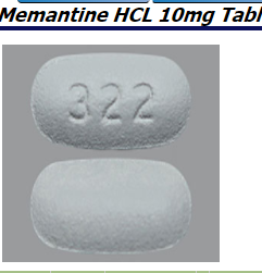 RX ITEM-Memantine 10Mg Tab 500 By Caraco Pharma