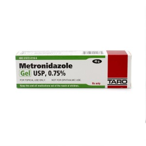 RX ITEM-Metronidazole 0.75% Gel 45Gm By Taro Pharma