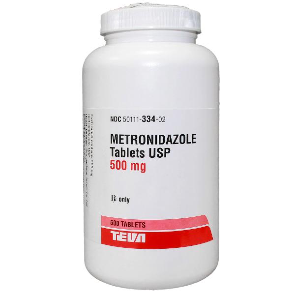 RX ITEM-Metronidazole 500Mg Tab 500 By Teva Pharma