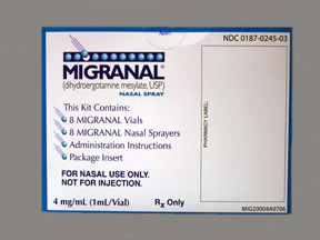 RX ITEM-Migranal 0.5Mg Spry Spray 8X1Ml By Valeant Pharma