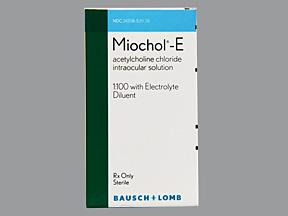 RX ITEM-Miochol-E 1% Kit 1 By Valeant Pharma