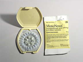 RX ITEM-Mononessa 28 0.25/0.035 Tab 6X28 By Actavis Pharma