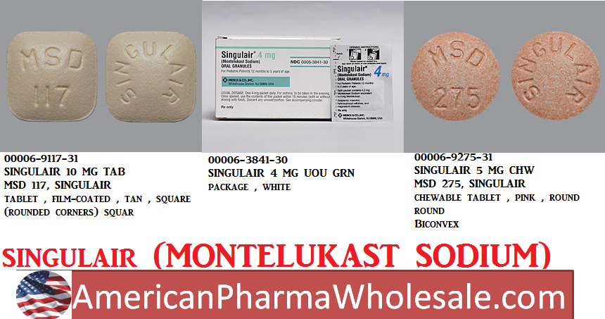RX ITEM-Singulair 5Mg Chewable  90 By Merck