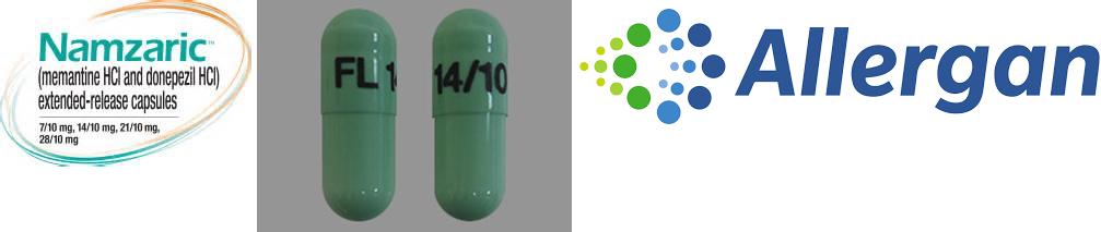 RX ITEM-Namzaric 14Mg/10Mg Cap 30 By Actavis Pharma(Teva)