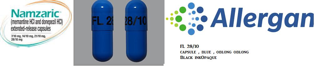 RX ITEM-Namzaric 28Mg/10Mg Cap 30 By Actavis Pharma(Teva)