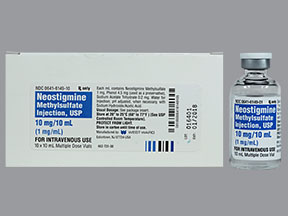 RX ITEM-Neostigmine Methylsulfate 10Mg Vial 10X10Ml By Westward Injectable