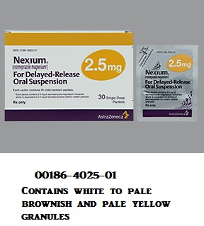 RX ITEM-Nexium 2.5Mg Packet 30 By Astra Zeneca Pharma