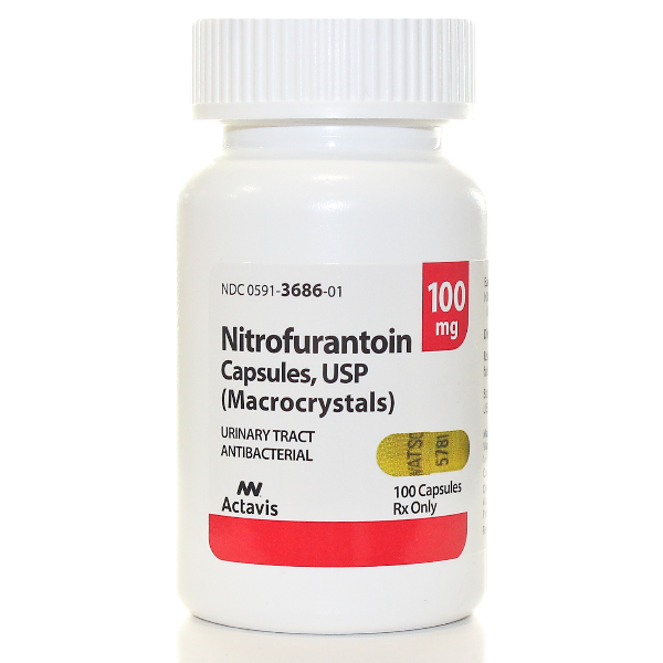 Rx Item-Nitrofurantoin 100mg Cap 100 By Actavis Pharma(Teva)