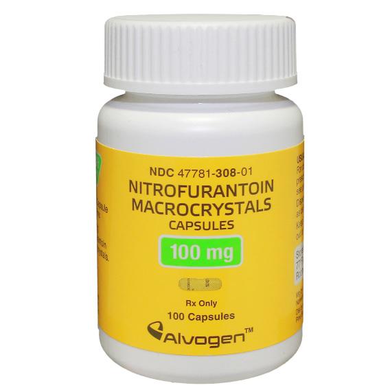 '.Nitrofurantoin Macr 100Mg Cap 100 By Alv.'