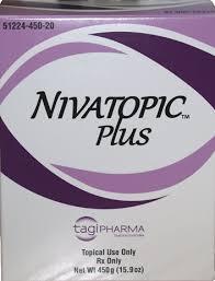 RX ITEM-Nivatopic Cream 450Gm By Tagi Pharma