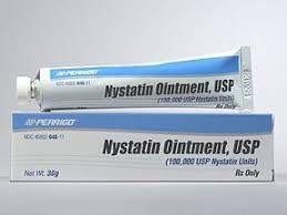 RX ITEM-Nystatin 100000U/Gm Ont 30Gm By Perrigo Pharma