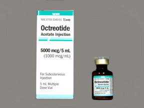 RX ITEM-Octreotide 1000Mcg/Ml Vial 5Ml By Teva Pharma