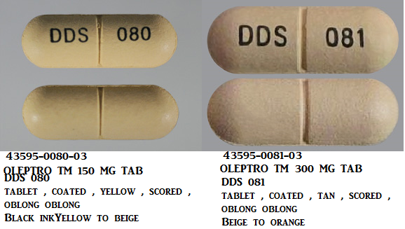 RX ITEM-Oleptro Tm 300Mg Tab 30 By Angelini Labopharm