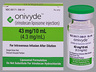 RX ITEM-Onivyde Irinotecan Liposomal 43Mg 10Ml Single Dose Vial 10Ml By Ipsen Bi