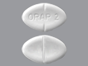 RX ITEM-Orap 2Mg Tab 100 By Teva Pharma