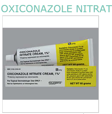 Oxiconazole Nitrate 1% Cream 60 gm by Fougera Pharma Exp 3/19